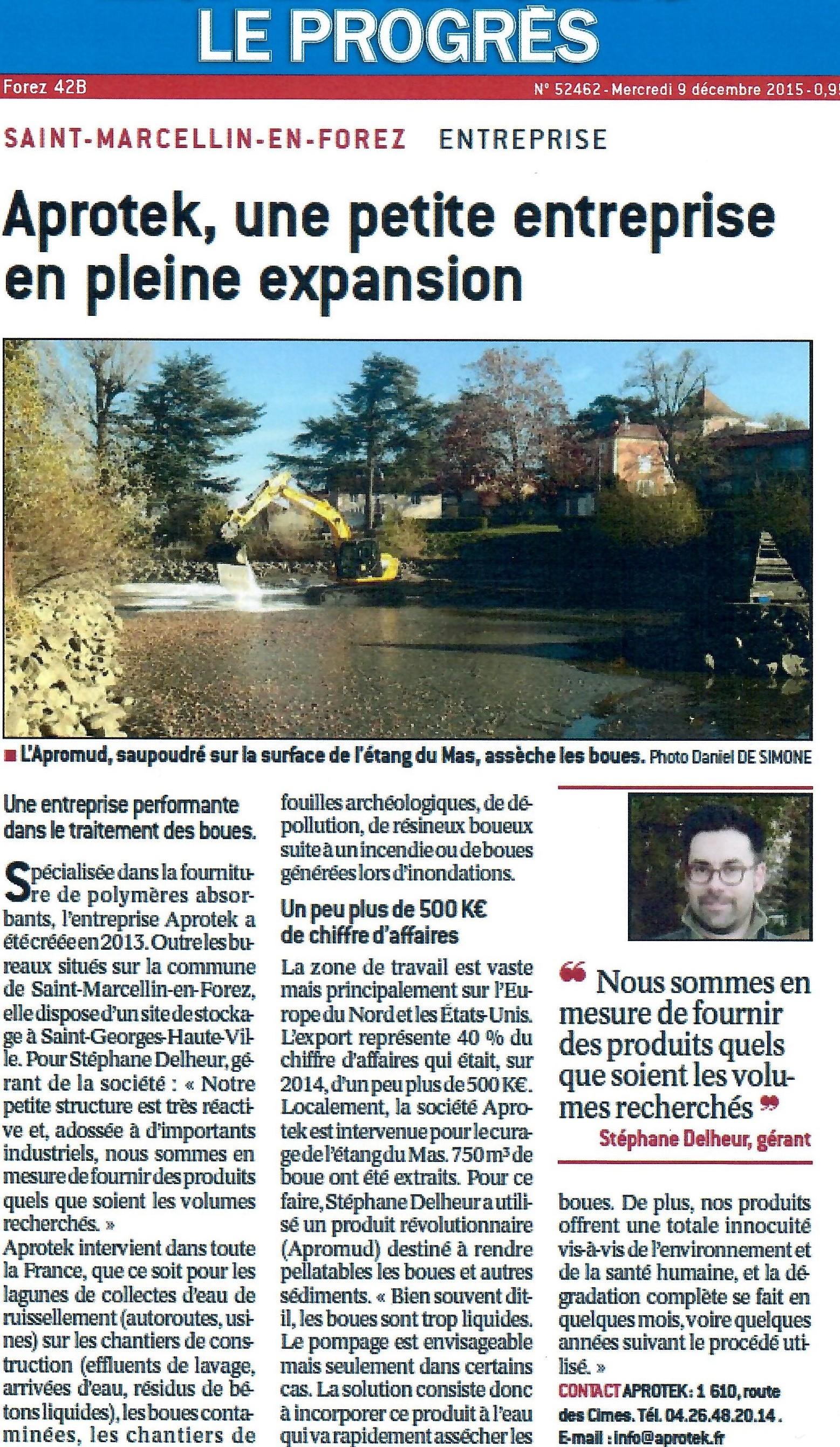 La Tribune Dec 2015